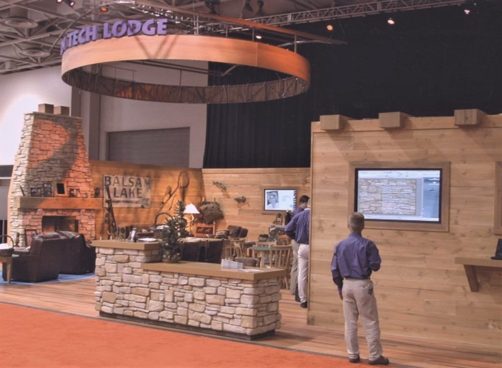 Custom Trade Show Booth in St Paul MN